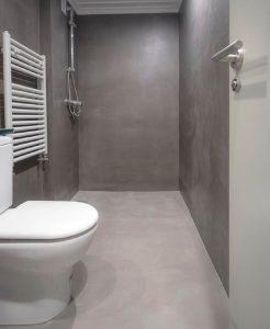 baño de microcemento Vitoria