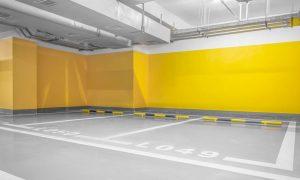Pintando garaje calidad en Vitoria