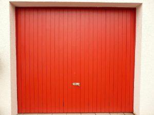 pintura de garajes en Vitoria