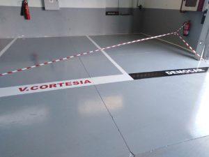 pintura de pavimentos y parkings en Vitoria