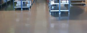 Epoxi pintura de suelos y pavimentos industriales en Vitoria