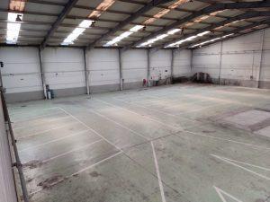 Reformas de pavimentos industriales en Vitoria