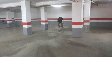 Reformas de suelos de garajes